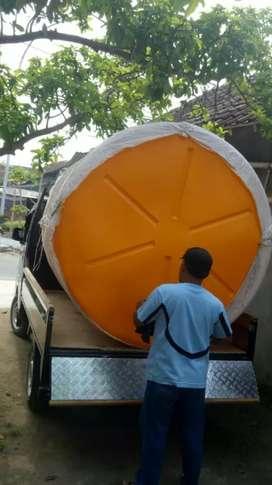 Tandon air 3000 liter toren magelang bahan plastik pvc