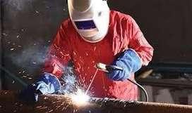 Need welder , gas cutter and helper