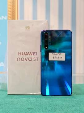 Huawei Nova 5T 8/128 mulus like new original 100%