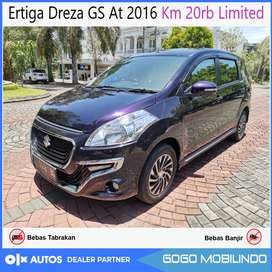 [DP31jt] Ertiga Dreza GS At 2016 km 26rb antik bs Kredit