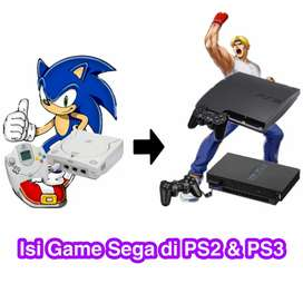 Isi Game Sega di ps2 dan ps3