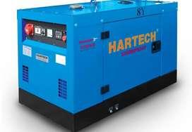 Genset Diesel Silent/Open 8kva YANMAR HARTECH HT-8Y