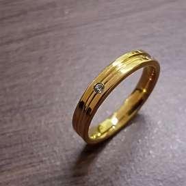 Wedding Ring Murah [BISA COD, BAHAN TIDAK MUDAH LUNTUR]