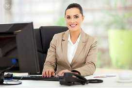 Need a female receptionist in a Spa