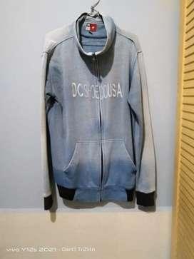 Jaket DC wrna biru