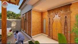 Rumah Joglo Klasik Jati Ukir, Multifungsi Hunian, Guest House, & Villa