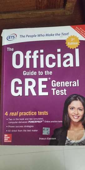 ETS official guide to the GRE general test
