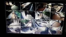 Paket pemasangan Camera CCTV 4 titik 2 MP, Free kabel 80 m, Hdd 500 Gb