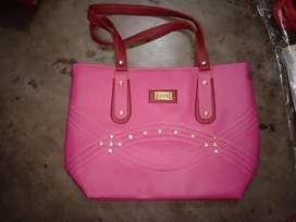 Ladies side shopping bag 01