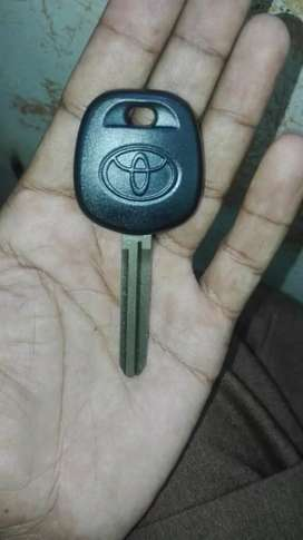 Toyota immobilizer key available new