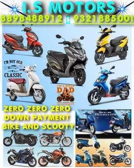 TVS NTORQ / ALL 2 WHEELERS  Zero down payment in Mumbai