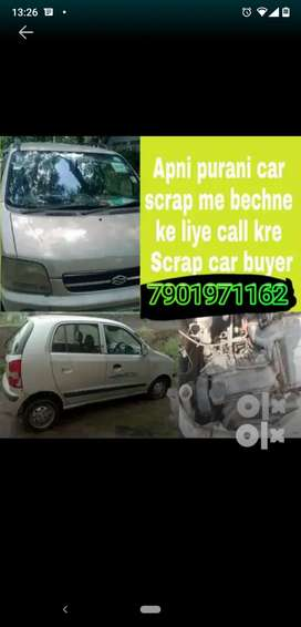 We deal in all types of scrap car call us now