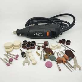Mesin Gerinda Mini Elektrik J.LD Set 63 Pcs BONUS MATA BOR
