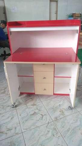 meja belajar lipat lemari almari mini DAP dipan kitchen set