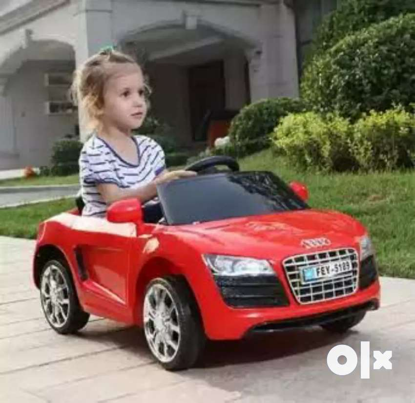 Offer audi model kids rechargeable battery operated car bikes toys 0