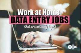 ~ free lancer part time online part time - font simple eng typing job