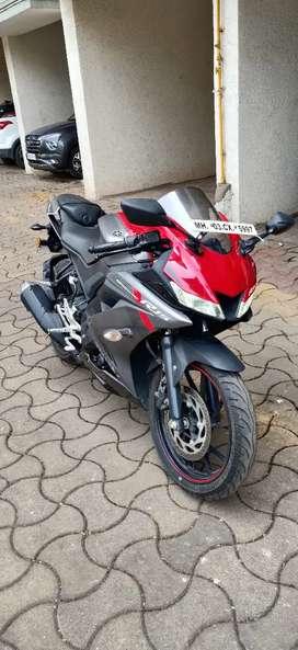 Yamaha R15 V3 Non ABS 2018 3525Kms