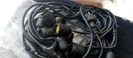Kabel + fitting dokar kedap air ( putrye)