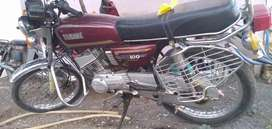 RX 135 YAMAHA. BIKE IS GOOD CONDITION. ALL WORKS DONE.
