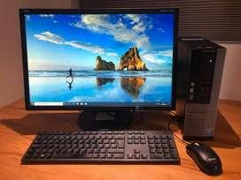 """dell optiplax 3020 core i desktop 4th gen ram 4gb hdd 500gb lcd 19"""""""