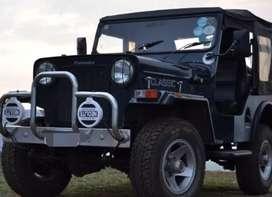 Mahindra modified classic jeep