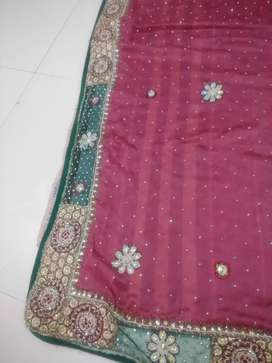 Unused saree without blouse