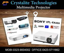 Projector On Installment only for School's with Warranty.