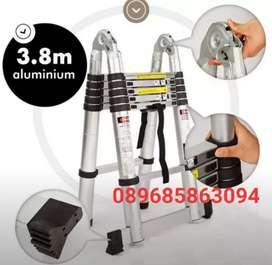 Tangga lipat Telkom, tangga Teleskopik lipat, tangga Teleskopik Double