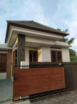Finish rumah baru 2 model yg berbeda,