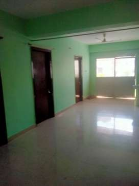 A 3bhk semi furnished flat at Ashok Nagar is available for rent.