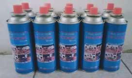 Gas Kaleng buat kompor dan pogging las dll bisa diantar