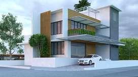2 Bds - 2 Ba - 1050 ft2 36 lakh luxurious villa at Sreemoolanagaram
