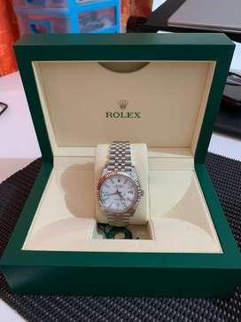 Rolex Datejust 41, 126334, white, Jubilee