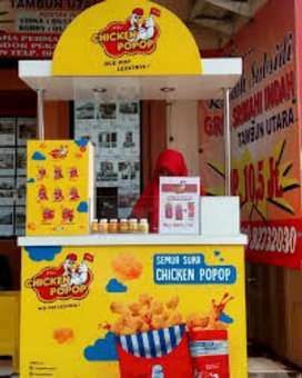Dicari penjaga booth makanan