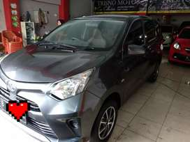 Toyota Calya E up G 2017 manual murah