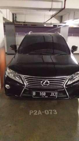 Lexus rx 270 facelift dijual