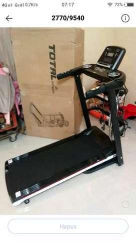 Terbaru treadmill elektrik 4 fungsi tl 607