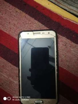 j7 1.5 years only screen crack working no problem