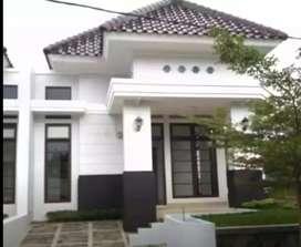 Rumah cluster bebas banjir