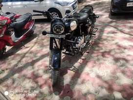 Bullet classic 350 with VIP NO.