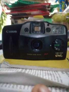 Canon sure shot owl film camera