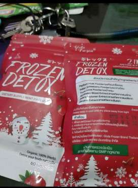 Vitamin Detox Frozen/kapsul DIET (ready banjarmasin)