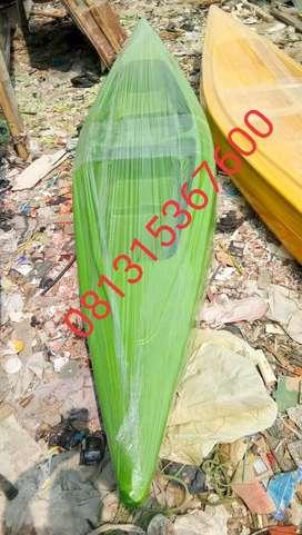 perahu kano hijau dobel