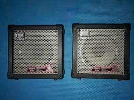 Roland Cube 30X ampli gitar built in amp simulator & efek