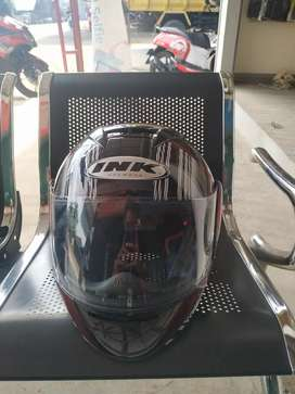 Helm Fullface INK CL MAX SERI 4 BLACK RED FLUO