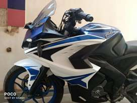 PULSAR RS 200 BLUE DEVIL COLOUR ABS VARIANT