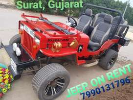 MAHIMDRA OPEN JEEP FOR RENT