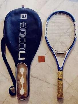 Wilson NCode- Lawn Tennis Racquet