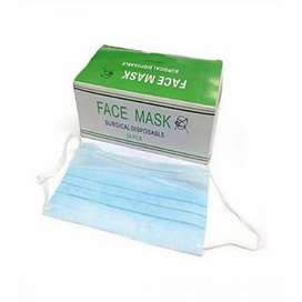 Surgical Face Mask 3 ply with Nose Pin 75gsm