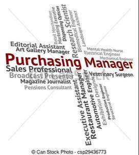 Urgent Need Purchase Manager